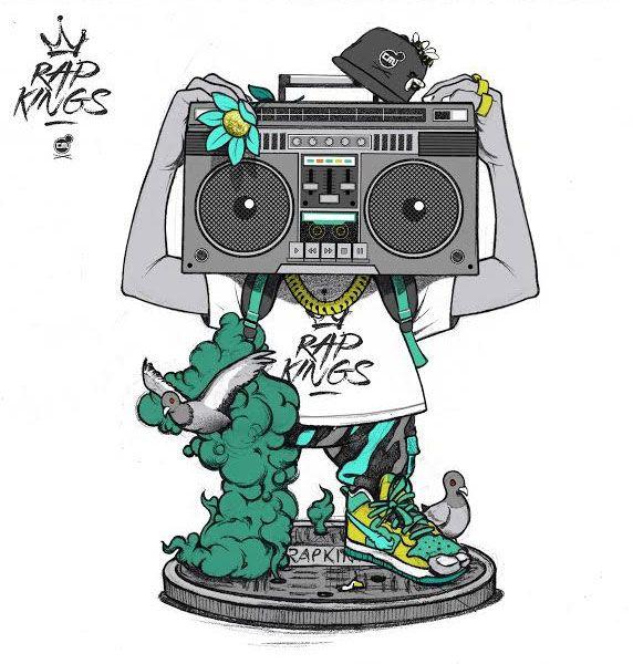 rap kings toy drawing
