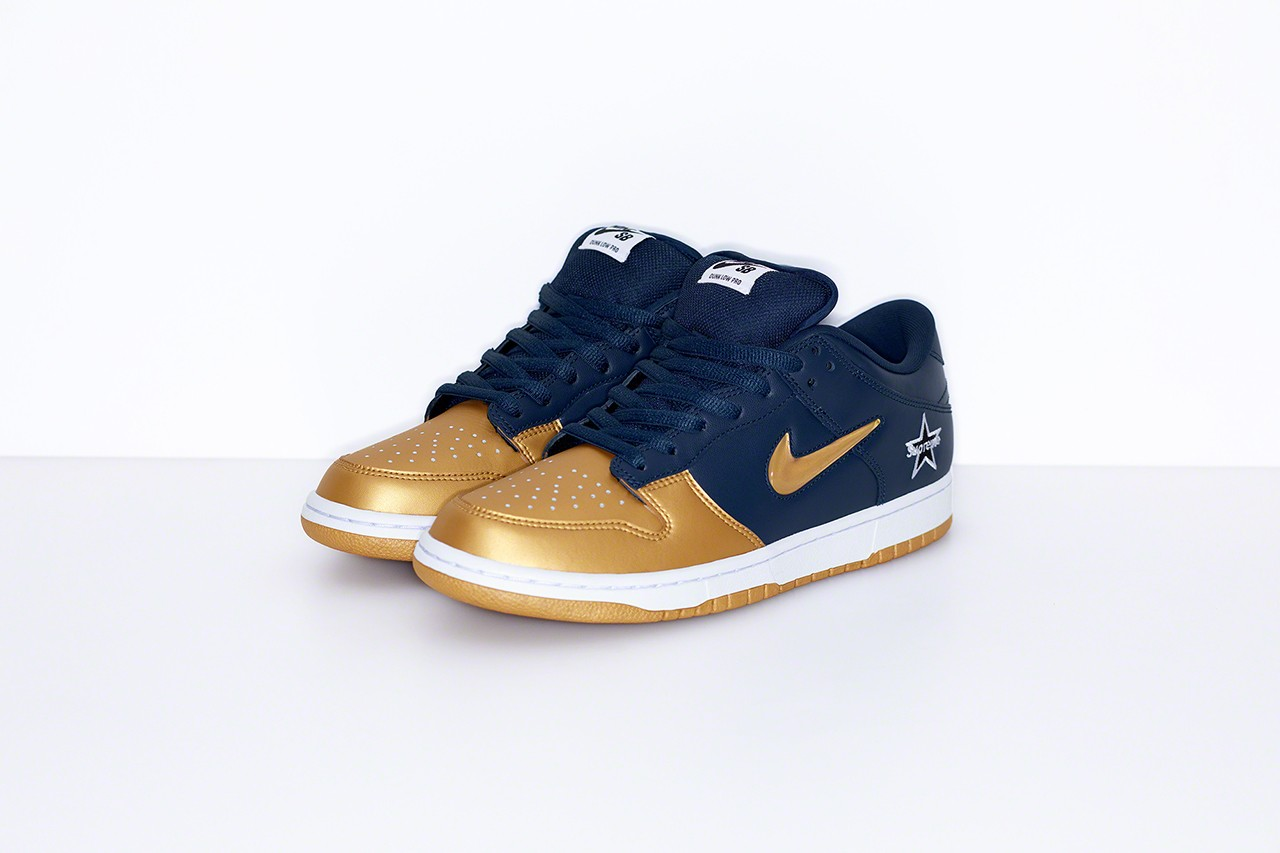 supreme-nike-dunk-low-gold blue