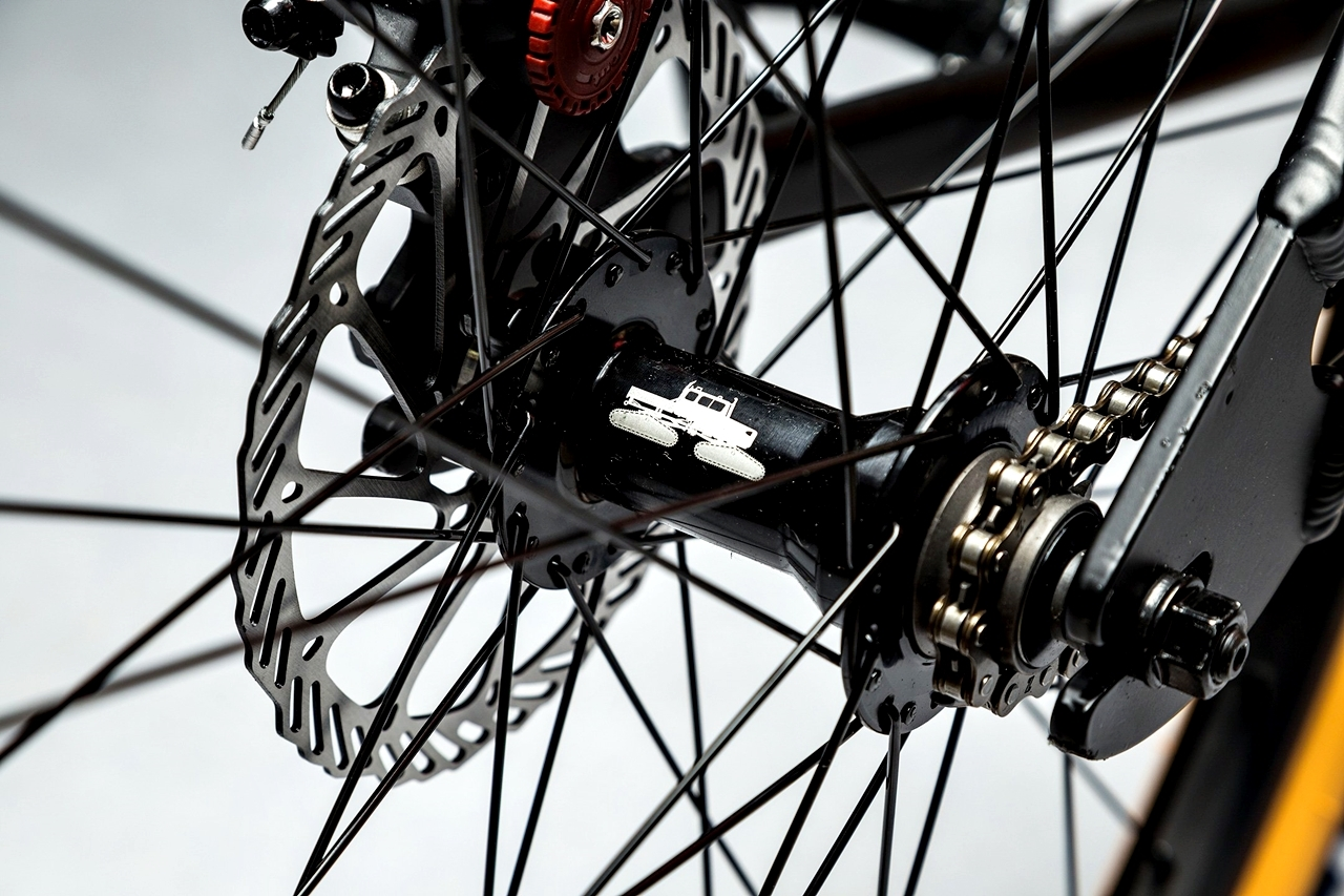 spacecraft, framed avid disc brakes
