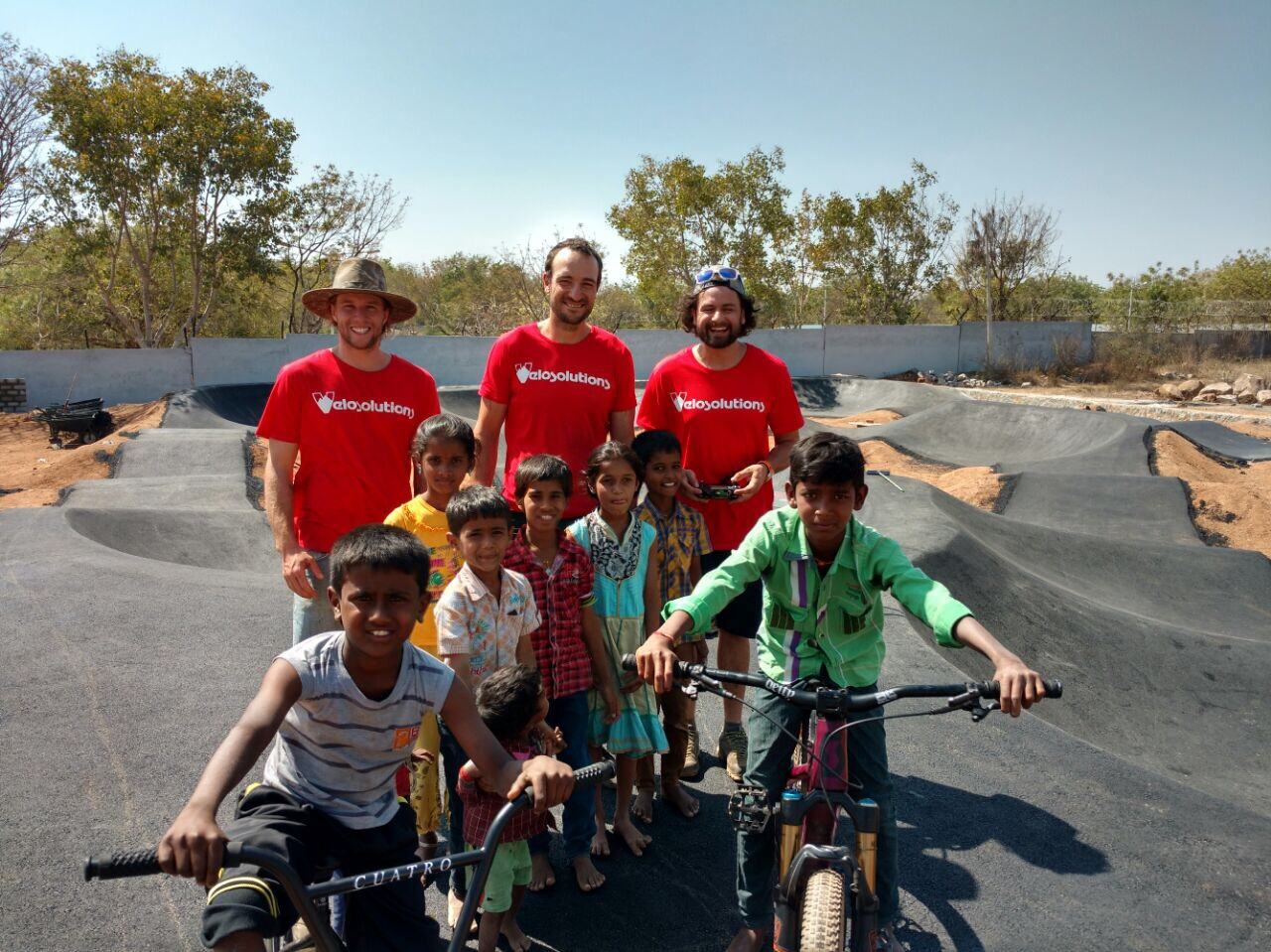 pump for peace, velosolutions
