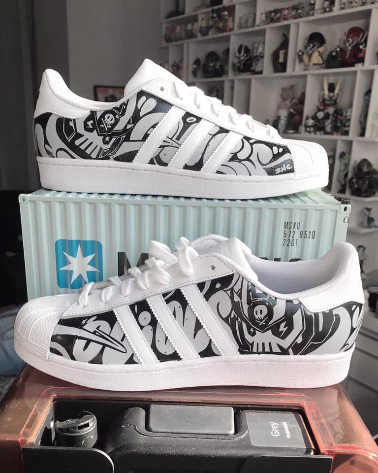 Quiccs, adidas custom sneaker