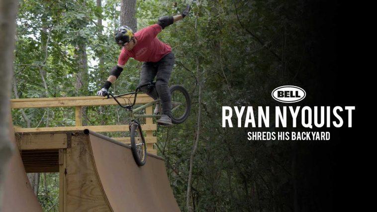 Ryan Nyquist, bell helmets