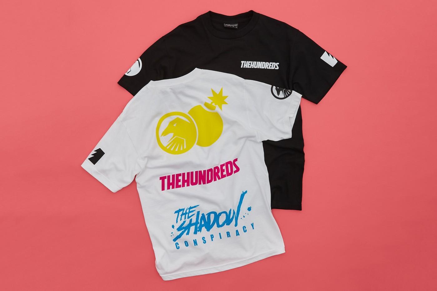 the hundreds bmx t-shirts