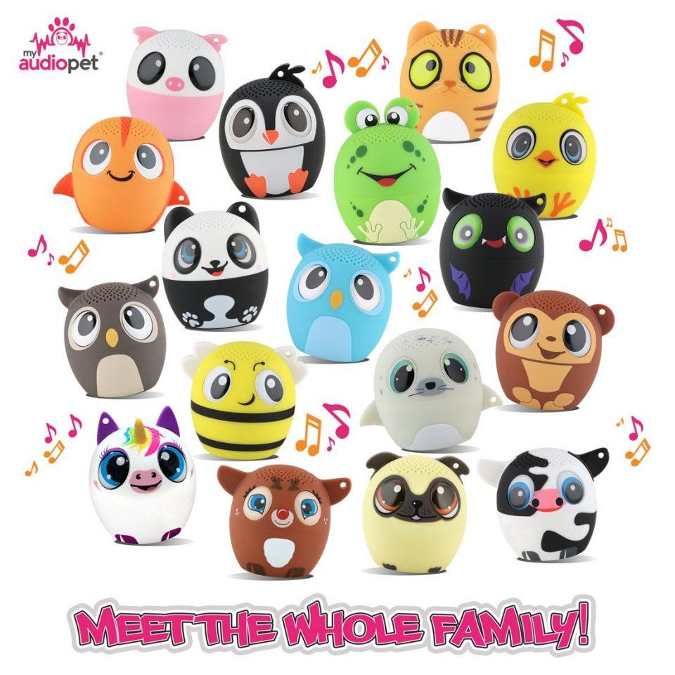 my audio pet family