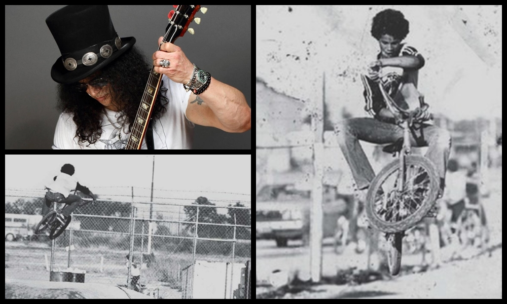 slash loves bmx racing