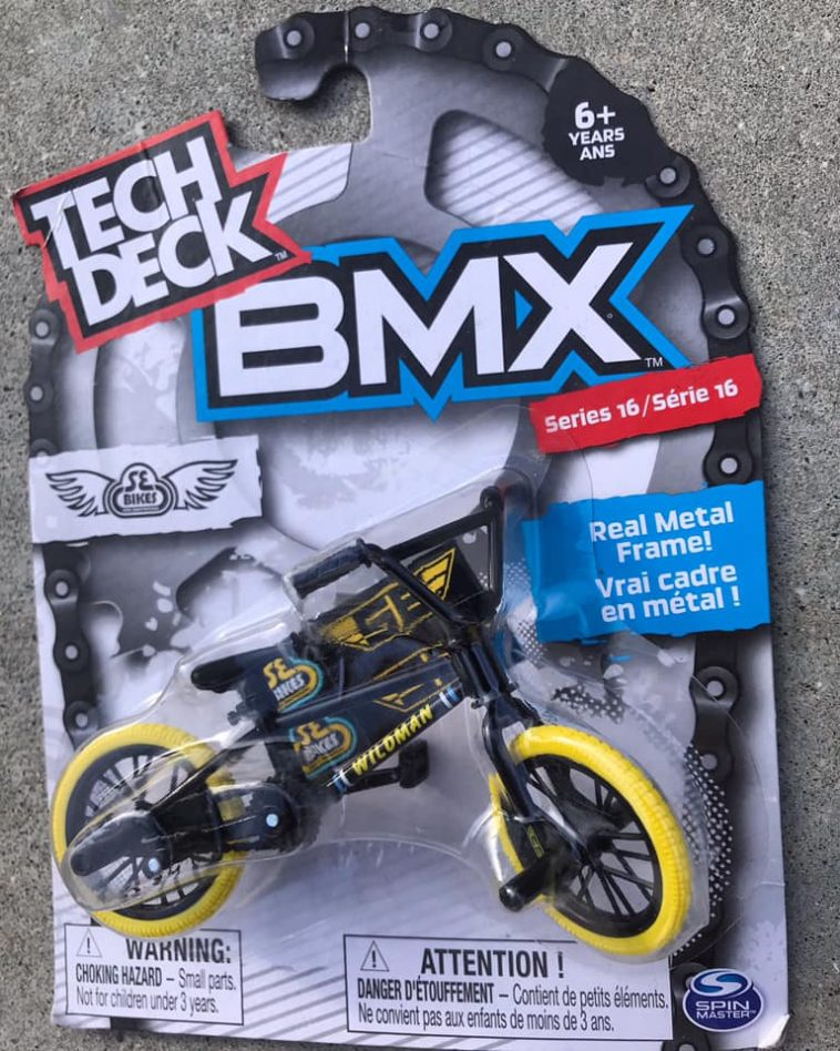 Todd Lyons Wildman Tech Deck Bmx Toy Coming Soon Sugar Cayne