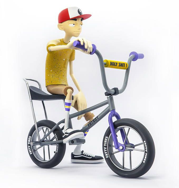 fatboy bmx art toy