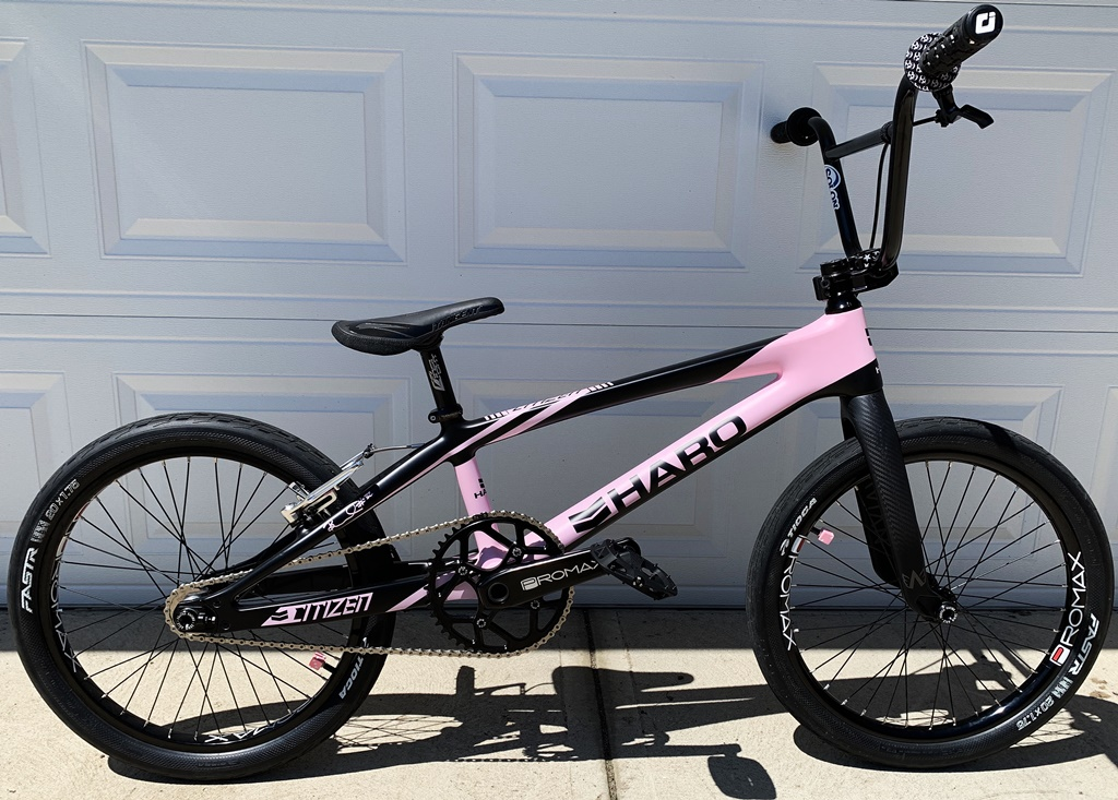 haro citizen pink brooke crain