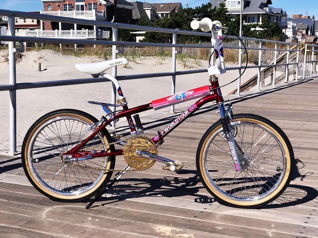 1986 GT World Tour BMX Bike Eddie Fiola