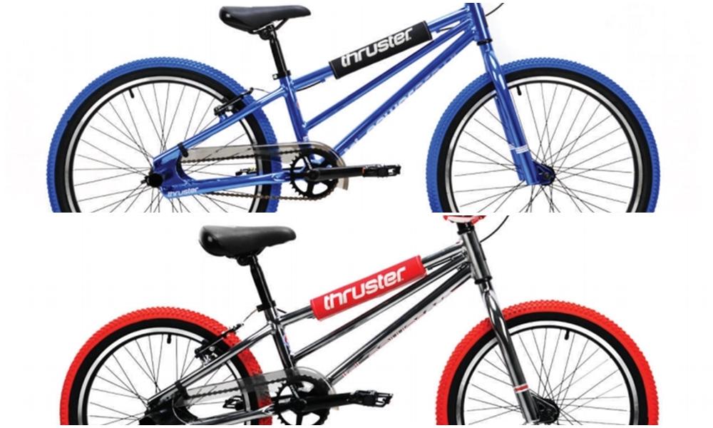 thruster tri power bikes