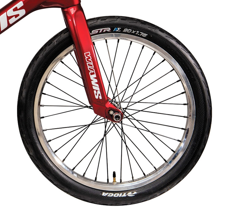 wiawis carbon forks red