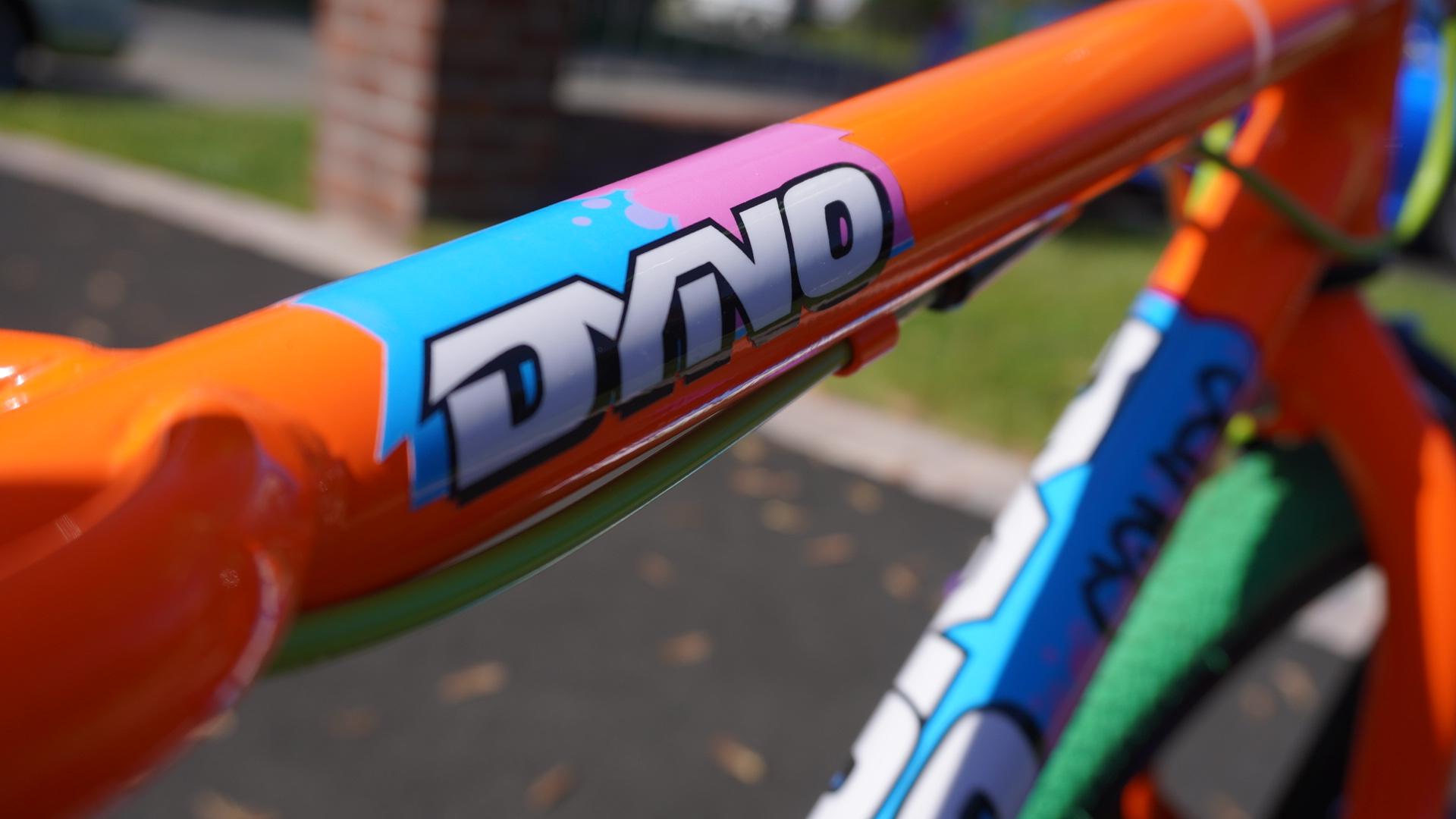 1990 dyno compe, top tube
