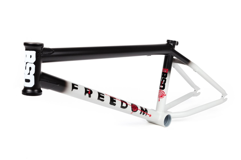bsd freedom black white fade