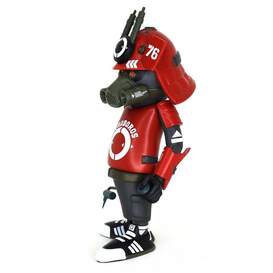 dr76 red alert art toy