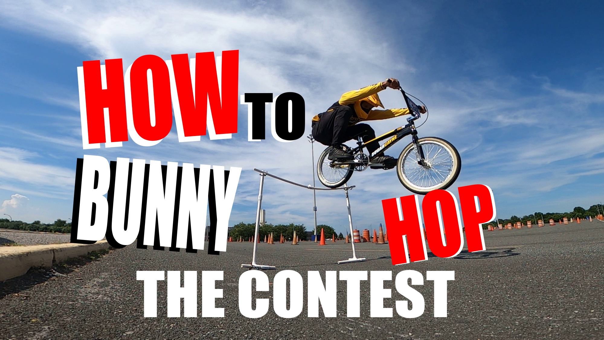 how to bunny hop a bmx
