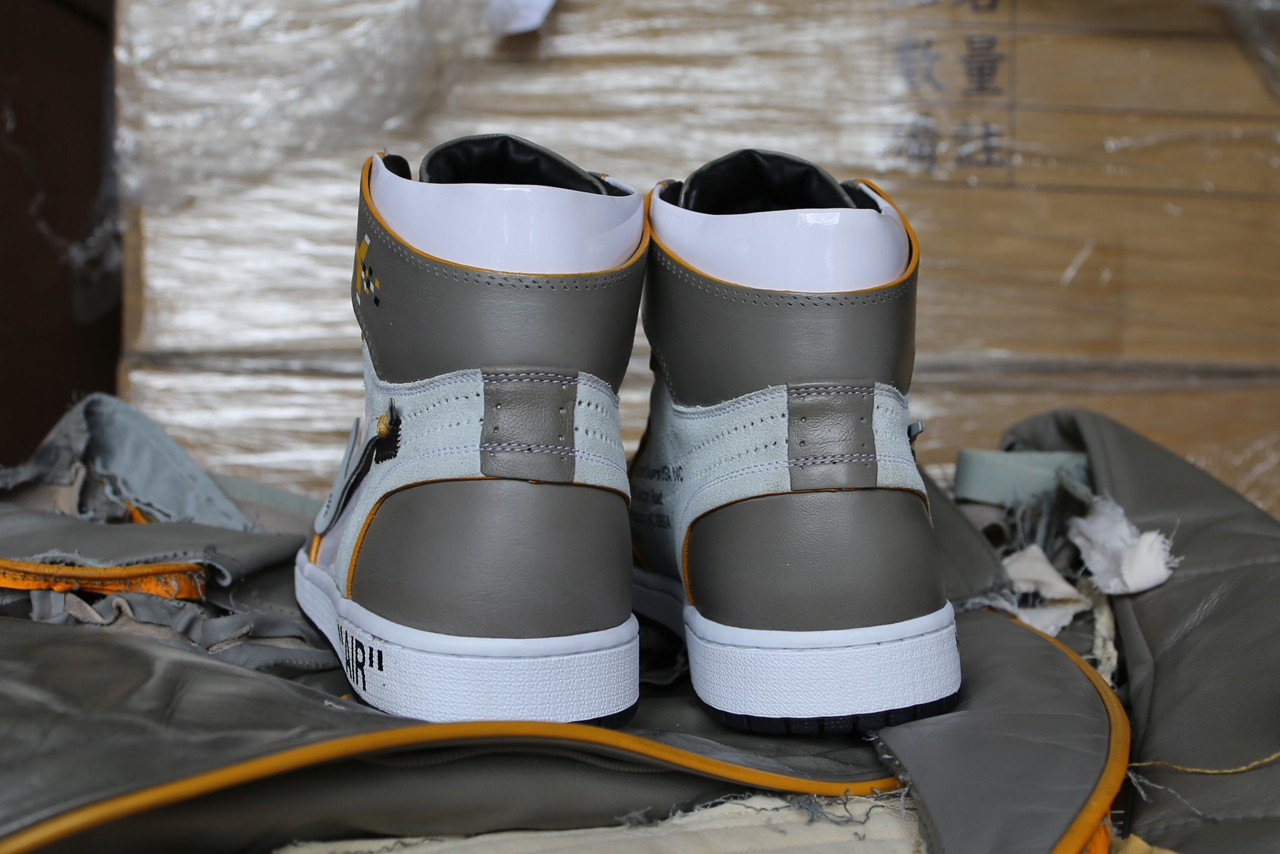 off white jordan heel
