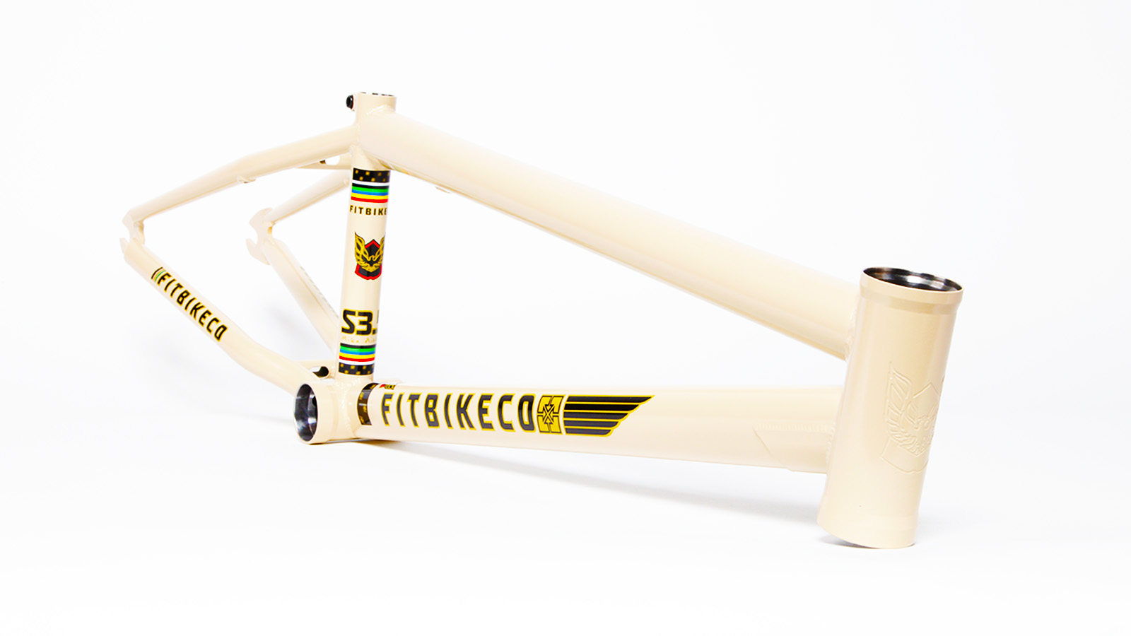 fit aitken tan bmx frame