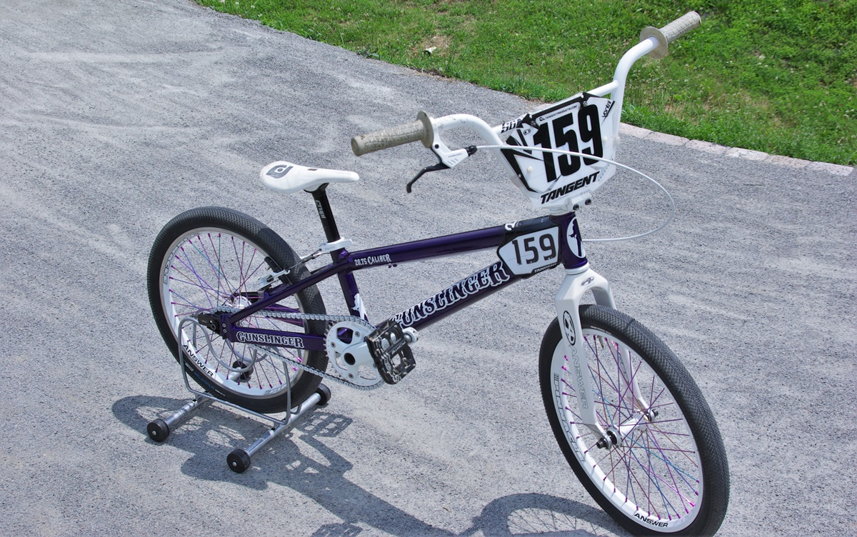 gunslinger bmx bike