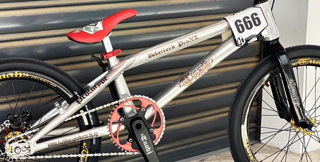 Tuah warlord pro xl os20 bmx bike