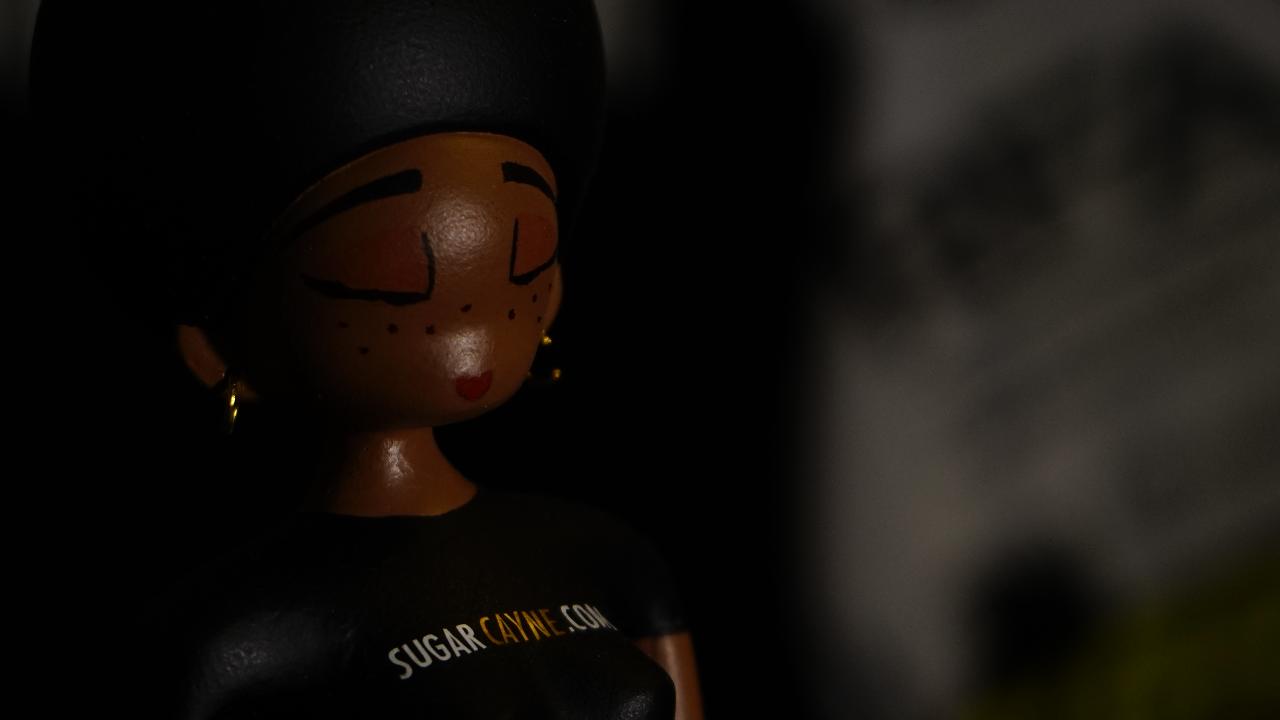 sugar cayne ginger doll