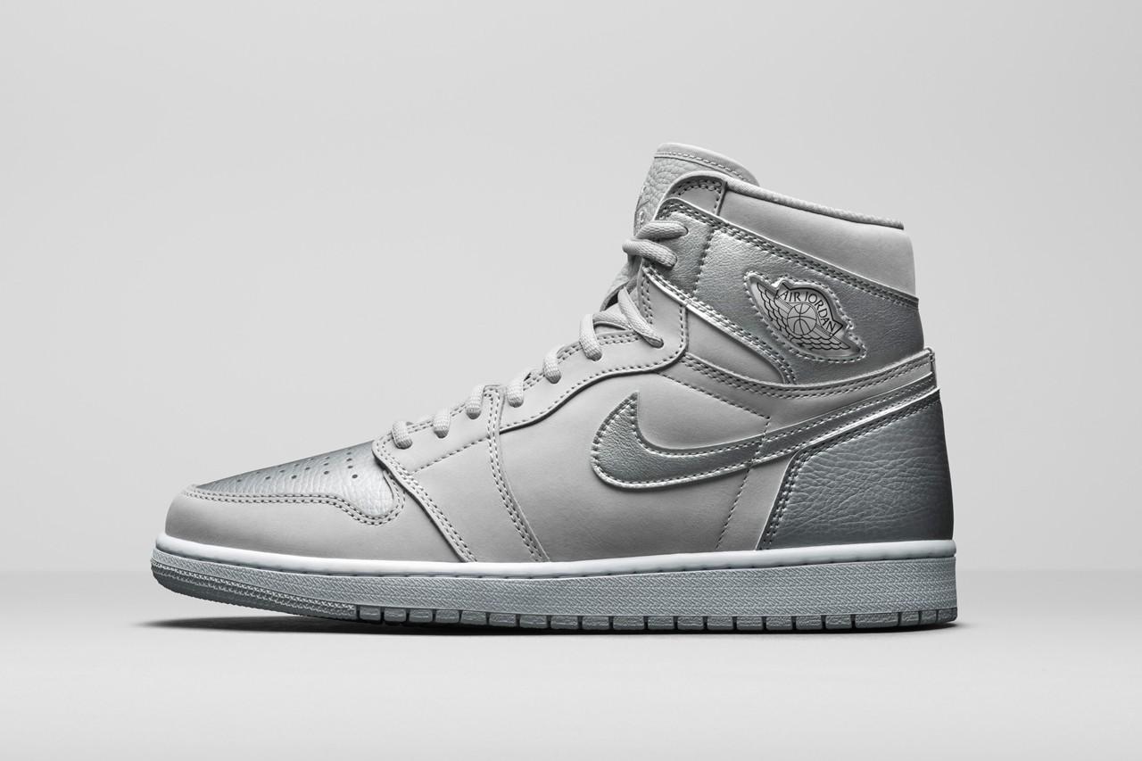 "Air Jordan 1 CO.JP ""Metallic Silver"" side"