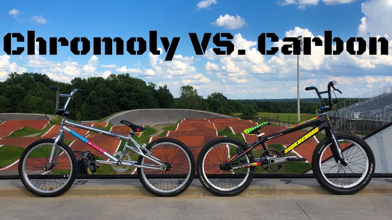 carbon vs chromoly bmx battle