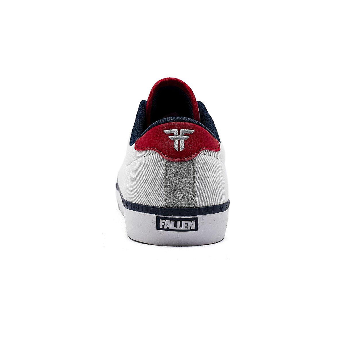fallen bomber sneakers heel