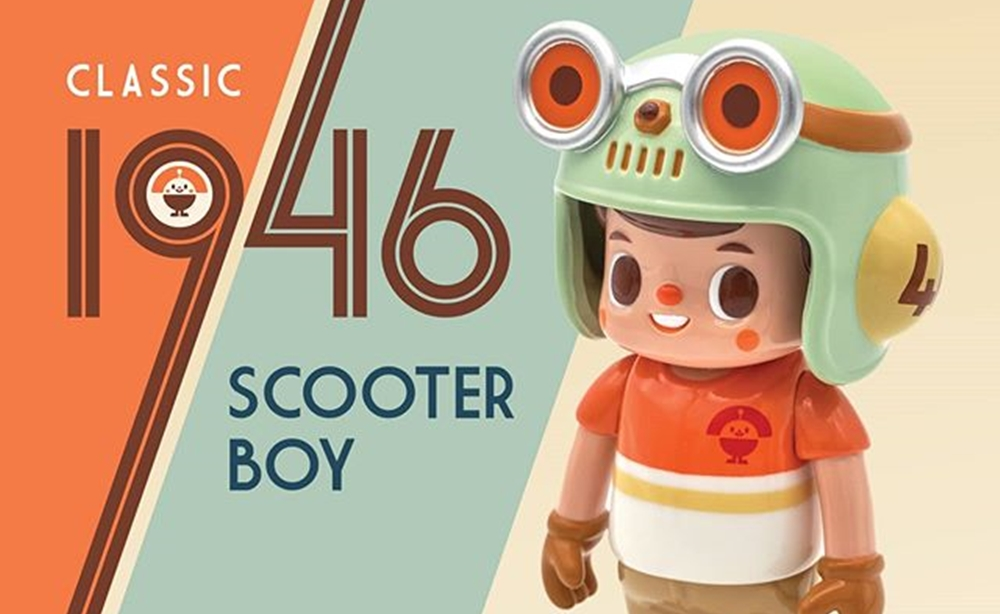 scooter boy kong andri
