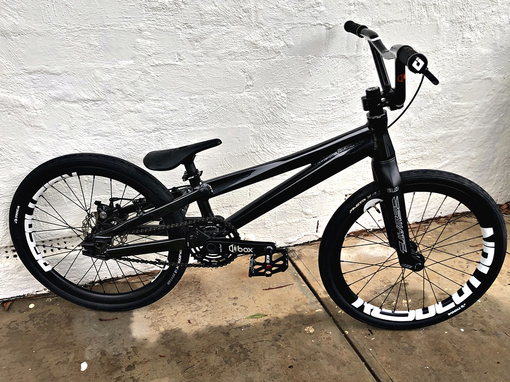 ice black pearl BMX Bike