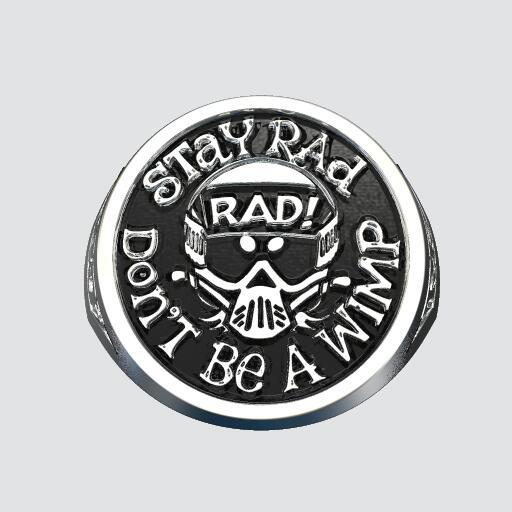 Radical Rick 40 Year Anniversary Signet Ring