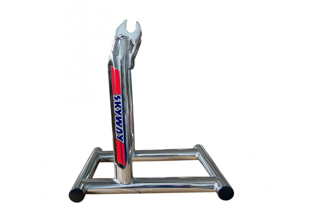 stolz skyway bike stand chrome