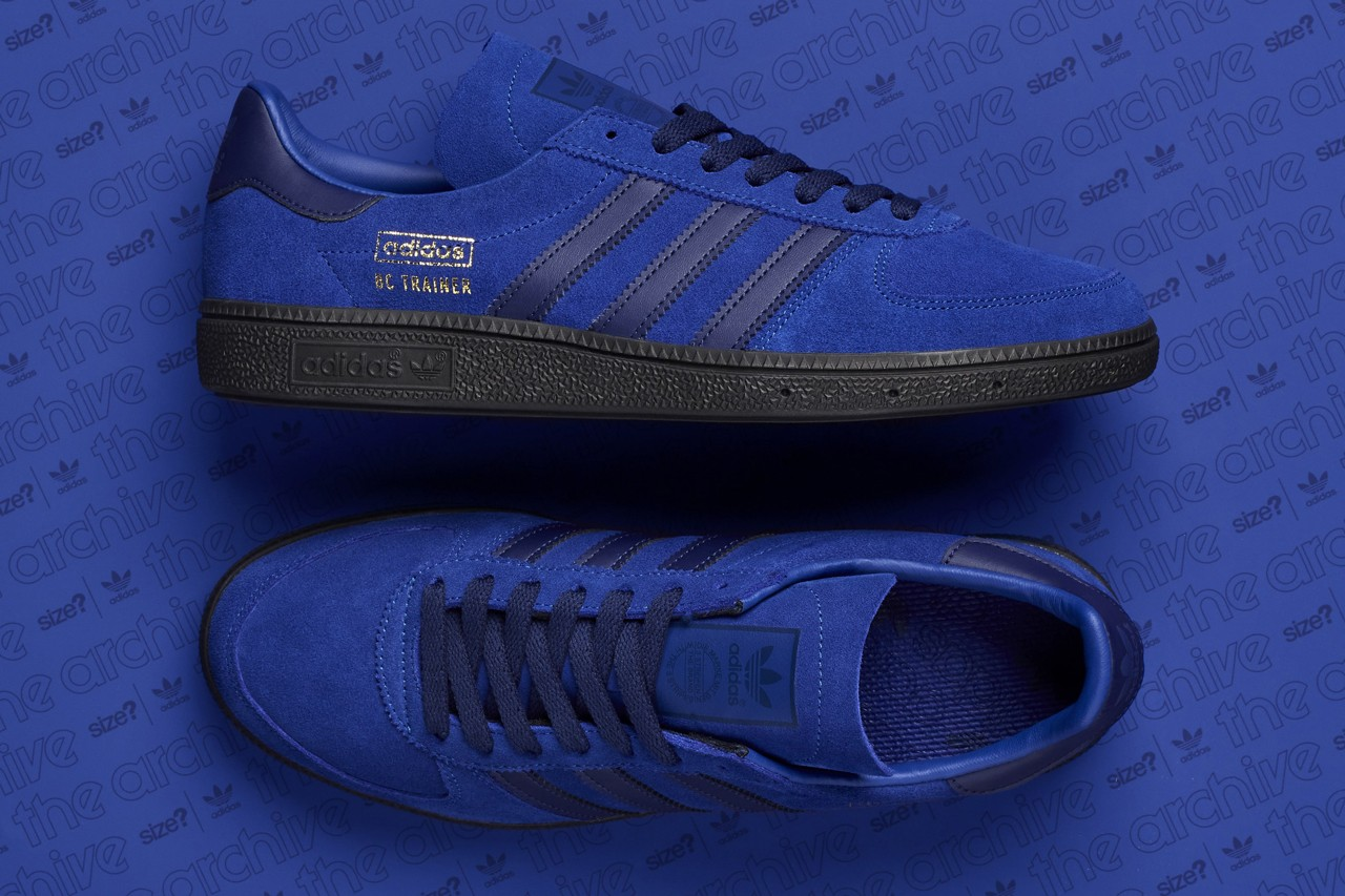 bc trainer adidas sneaker blue