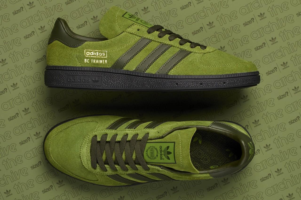 adidas bc trainner green