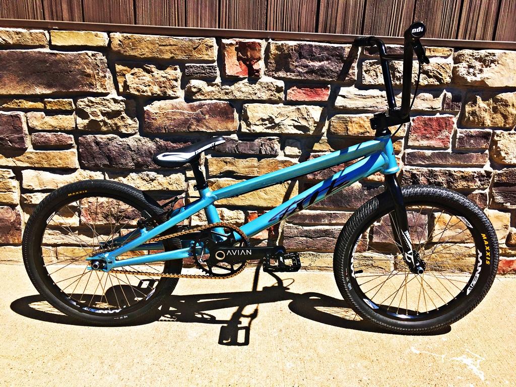 fate aluminum bmx race bike