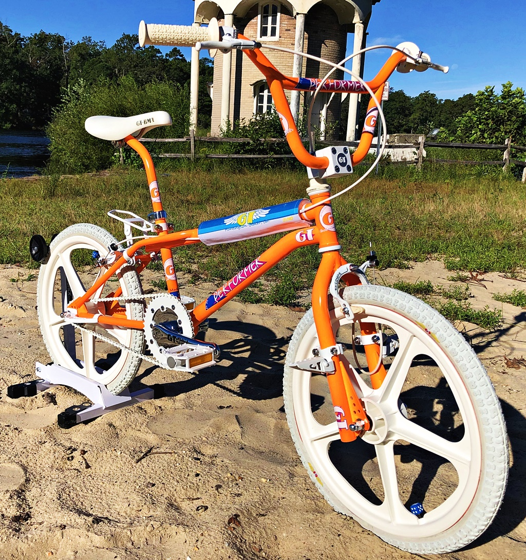 gt pro performer 1986 day glo bmx bike