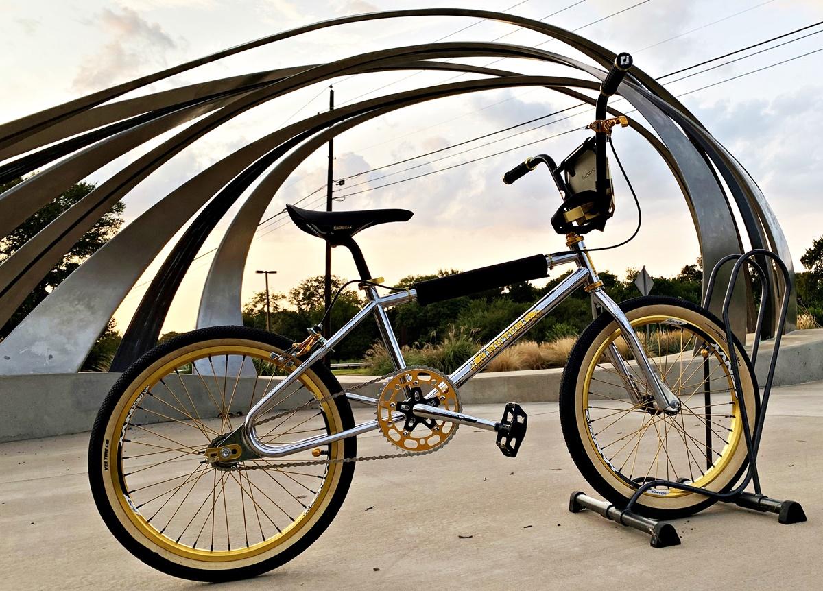 hutch pro racer bmx bike