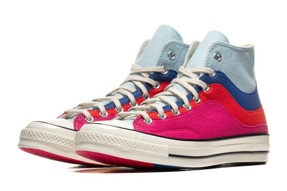 converse nor easter starlight blue sneakers