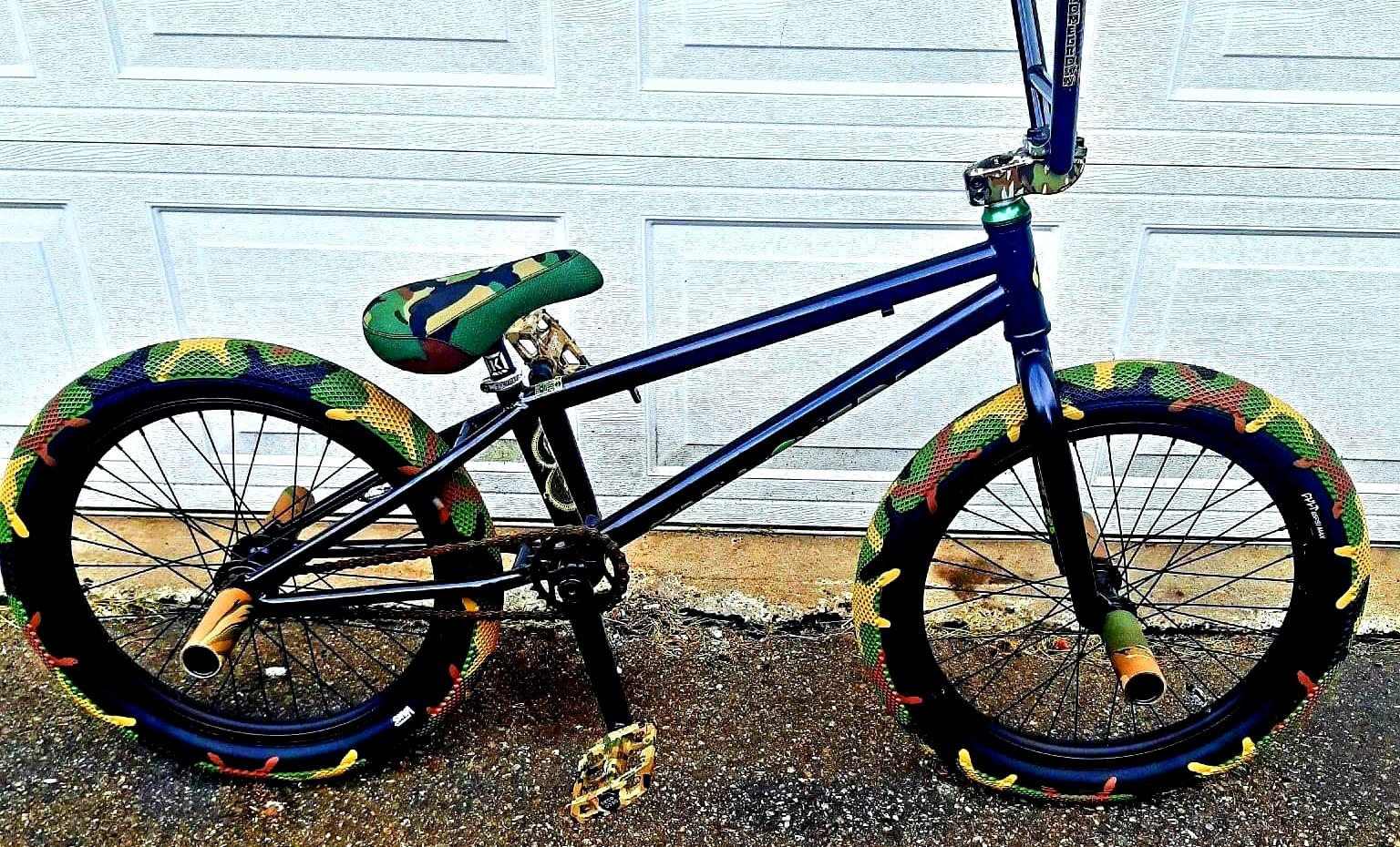 eastern camo bmx bike