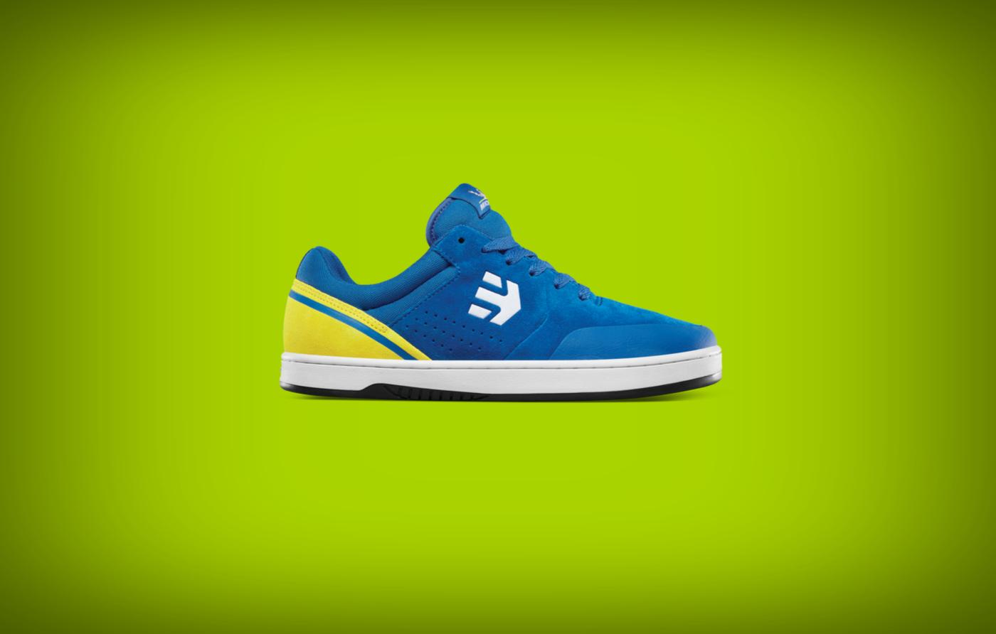 etnies marana sneakers blue yellow