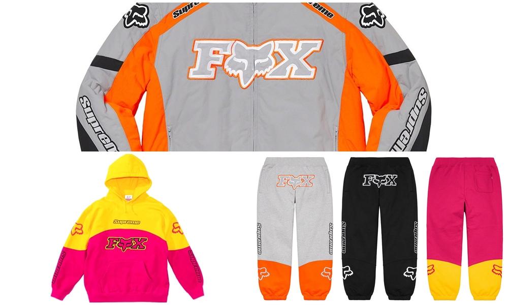fox supreme hoodies sweats