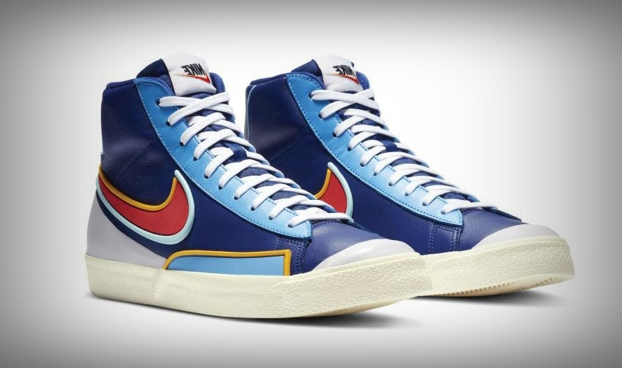 nike blazer mid royal blue sneakers