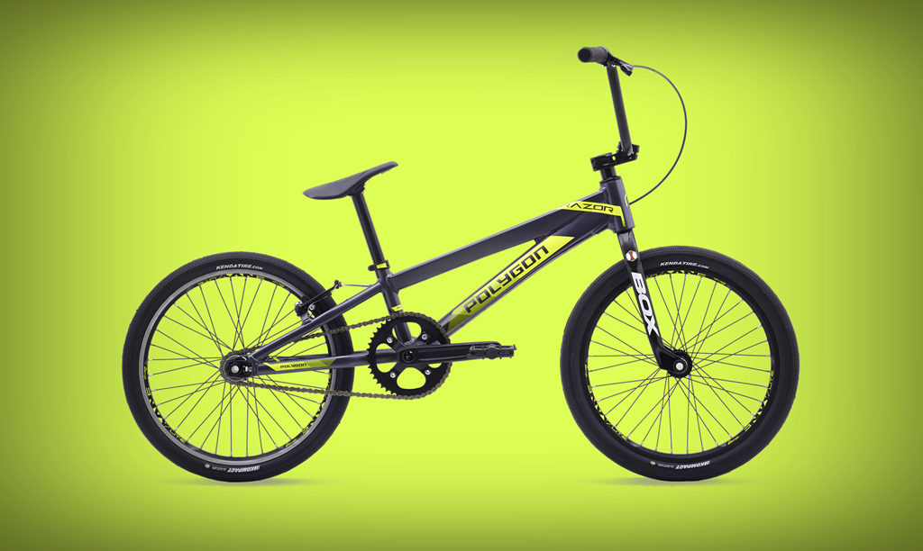 polygon razor elite bmx bike