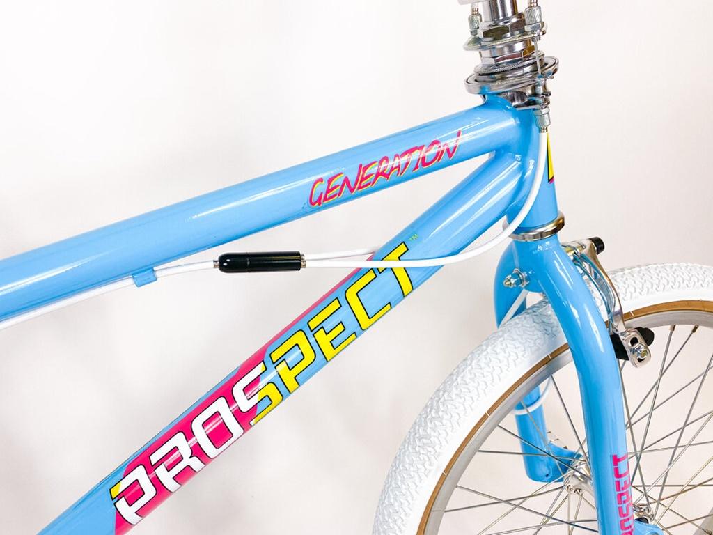 prospect generation freestyle bmx bike