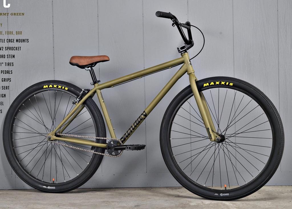 sunday high c 29 inch bmx bike