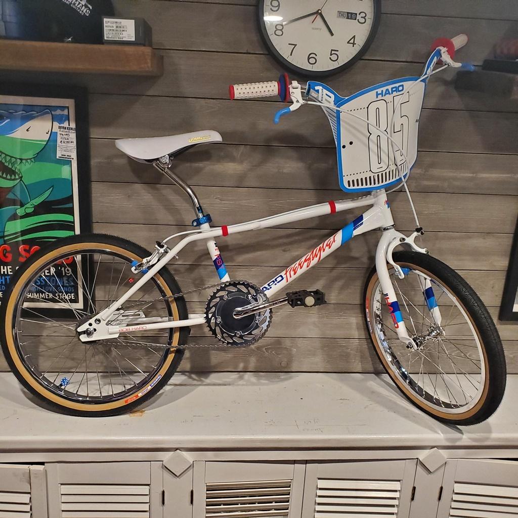1985 haro fst vintage bmx bike