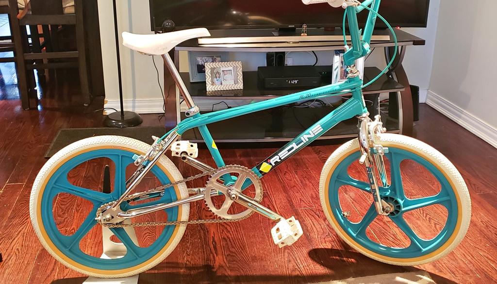 1985 Redline RL20II vintage bmx bike