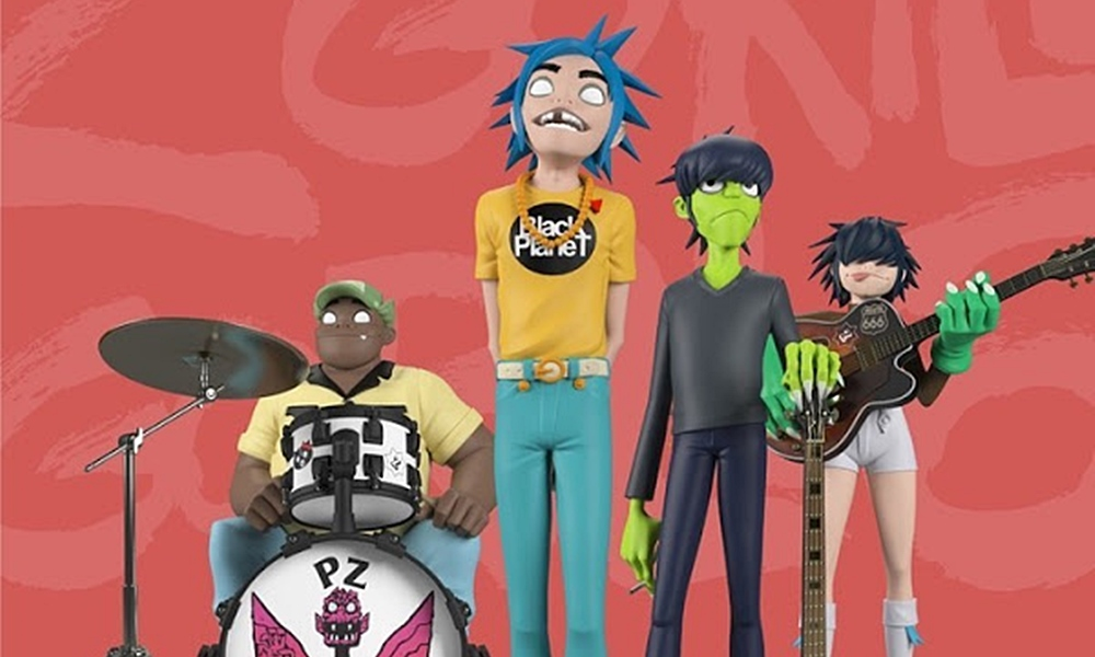 gorillaz song machine, toys