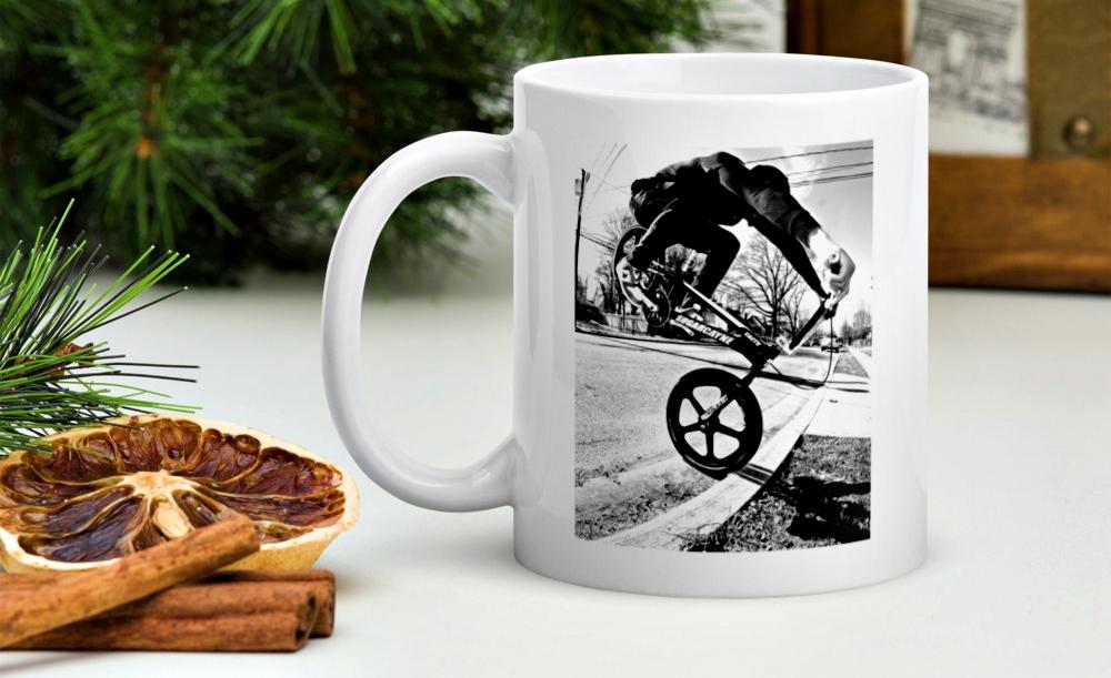 curb endo coffee mug