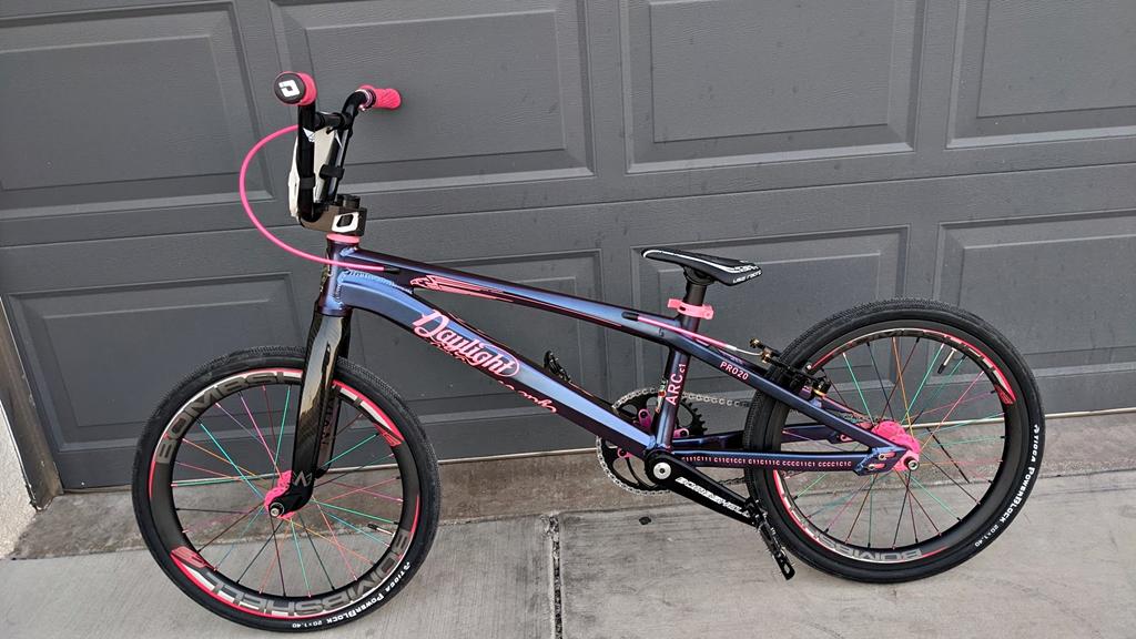 Daylight arc c-1 pro bmx race bike