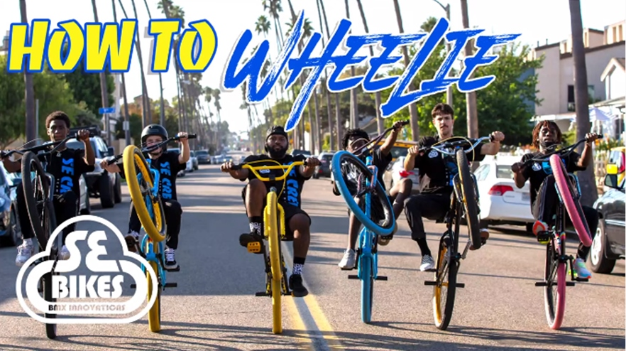 se bikes how to wheelie